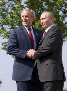 Putin und Bush