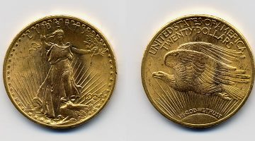 Double Eagle Goldmünzen