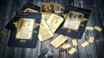 Gold in kleiner Stückelung